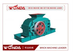 China GS 1000 × 800 Steel Automatic Roller Fine Brick Crushing Machine on sale
