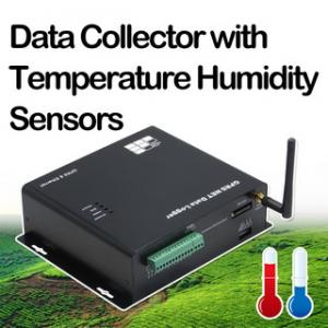 China Data Collector with Temperature Humidity Sensors on sale