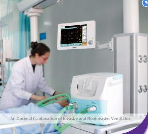 China Portable Mechanical Ventilator Machine With Alarming Function CE Certificate on sale