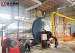 Energy - Saving 15 Ton Gas Steam Boiler Fire Tube Design Automatic Running