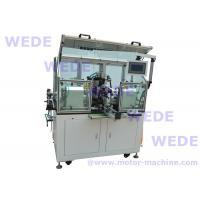 Riser slot commutator armature winding machine
