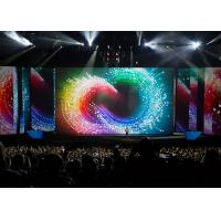 Fast Fold P3.9 Rental Indoor Led Curtain Display 4mm Pixel Pitch
