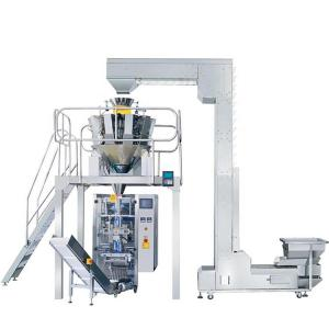 China Nitrogen Snack 3KW Vertical Form Fill Seal Packaging Machine on sale