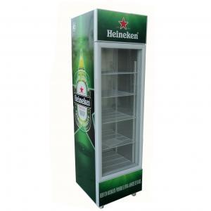 China 235L Supermarket Equipment Beverage Display Cooler Energy Drink Showcase Fridge Upright Chiller SC235B on sale