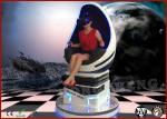 Equipo del cine de Digitaces del cine de Seat 9D VR del lujo 3 para la alameda de compras