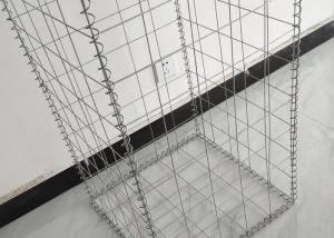 China Home Decorative Gabion Wall , Rock Gabion Retaining Wall 3.0mm- 6.0mm Wire Diameter on sale