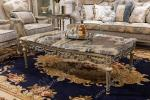 Luxury marble coffee tables exotic coffee table center table design living room baroque fu