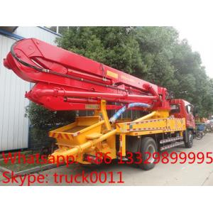 China factory sell 28m new boom concrete pump truck for sale on sale