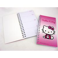 China 200 Page A6 Spiral Bound Book Printing Cartoon Design on sale