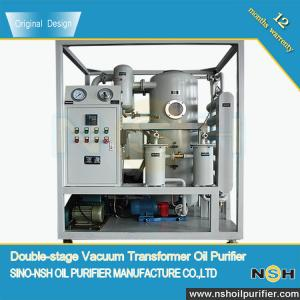 China NSH Insulation Oil Purifier, VFD/VFD-R,double stage, Power Transformer Oil, remove water,improve oil insulation on sale