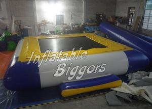 China Soft PVC Rental Inflatable Water Park Games CE / UL With Germany Zipper on sale