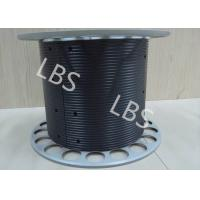 Aluminium Winch Drums with Lebus Grooved Sleeves On Aircraft Application Lifting