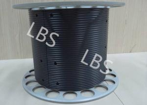 China Aluminium Winch Drums with Lebus Grooved Sleeves On Aircraft Application Lifting on sale