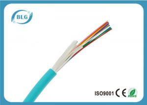 China Non Unitized 6 Strand Fiber Optic Cable , MM 50 / 125 OM4 Fiber Optic Network Cable on sale