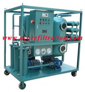 China Waste Industrial Lubricating Oil Purifier Machine on sale