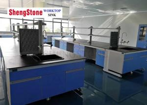 China Professional Black Epoxy Resin Work Surface Flat Edge Strong Acid Resistance on sale