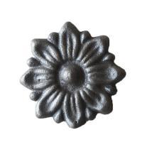 China Sand Blasted Cast Iron Garden Ornaments Antirust Cast Iron Fence Point on sale