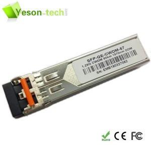 China china supplier 1.25Gbps CWDM SFP Transceiver 1270nm-1610nm/sfp tranceiver on sale