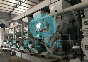 China Plc General Control System Fully Automatic Pellet Processing Pellet Making Pellet Line on sale