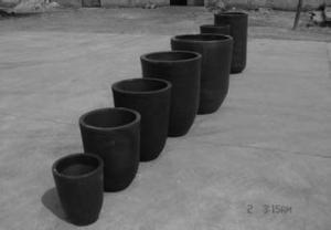 China graphite crucible / Graphite Crucible for Aluminum Melting on sale