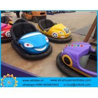 amusement park battery ground grid bumper cars for sale