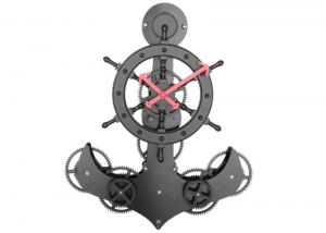 China Pirate Gear Standing Floor Clock Battery Operated For Table Decor on sale
