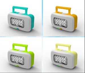 China Salt Water Power LED Lantern--No-battery lantern uses water and salt for light on sale