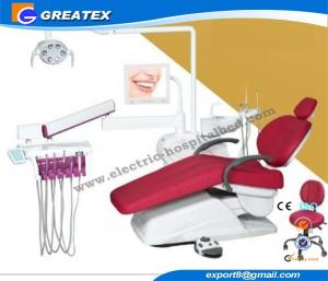 China Luxury Dental Unit with LCD Display Instrument Tray And Panorama Film Viewer on sale