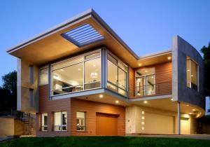 China Luxurious Prefabricated Steel House / Light Steel Frame Prefab Metal House ETC on sale