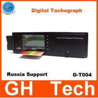 GPS Digital Tachograph GH G-T004 with printer/RS232 for Car/Bus Speed sensor Support Russian GPS / Glonass System