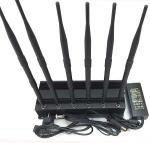 China 6 antenna desktop signal jammer cell phone jammer with 4G LTE wholesale