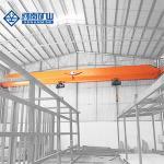 Workshop Wireless Remote Control Single Girder Overhead 10 Ton Bridge Crane
