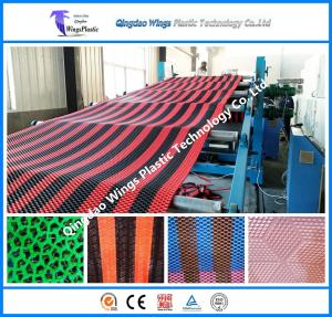 China Plastic PVC Calendering Mat Production Line Plastic Anti-Slip Extrusion Machine on sale