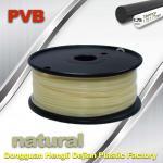 Natural Color Polishing Filament 1.75mm PVB 3D Printer Filament 0.5kg Net Weight