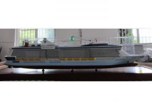 China Museum Decoration Royal Caribbean Cruise Ship Models , Quantum Of The Seas Model For Club on sale