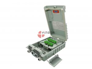 China IP65 Exterior NAP BOX 16 Ports Outdoor Fiber Optic Termination Box for 2 Pcs 1:8 Spitter on sale