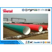 3LPE LSAW 24 INCH Coated Steel Pipe WT 14.3MM For Gas / Oil Transportation