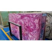 Violet onyx translucent panels