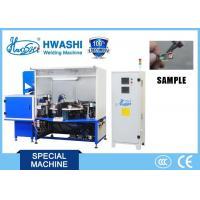 Carbon Brush Automatic AC Spot Welding Machine Copper Wire Projection Welder