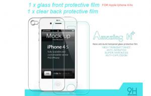 China Iphone Glass screen protector for Iphone 4 / 4S / 5 / 5S glass screen film on sale