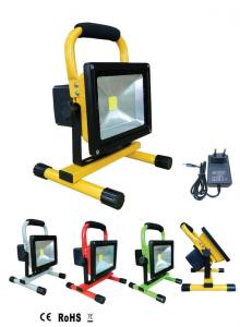 China 10w waterproof portable solar powered led flood lights with solar panel on sale
