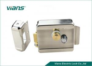 China Garage Door Double Cylinder Rim Lock Push Button Electro Mechanical Lock VI-600B on sale
