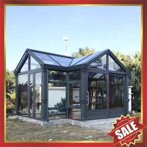China excellent Prefab tempered glass house,solar sunroom,sunrooms,sunhouse,aluminum room,aluminium house-long life for usage! on sale