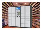 Intelligent Online Parcel Delivery Lockers , Barcode Password Smart Parcel Locker