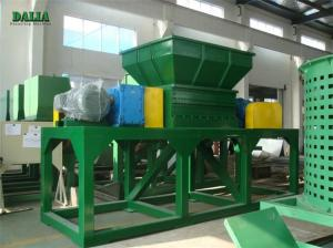 China PE PP Plastic Pipe Wood Pallet Shredder Microcomputer Automatic Control on sale