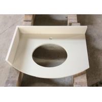 Artificial Snow White Quartz Stone Pure Color Slab For Hotel Kitchen Bathroom Countertop