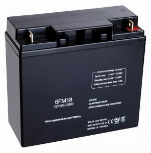 China ABS 12v18ah Hybrid, Online Or Standby UPS Valve Regulated Lead Acid Batteries For Telecommunications on sale