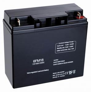 China Sealed Maintenance Free SMF Lead Acid 12v 18ah FM Batteries for power plant UPS system on sale