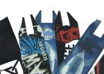 China High Sticky Waterproof Grip Tape Skateboard / Anti Slip Deck Tape Skateboard wholesale