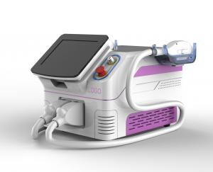China Big Spot Size Mobile Laser Hair Removal Machine , Intelligent Permanent Laser Hair Removal Machine on sale